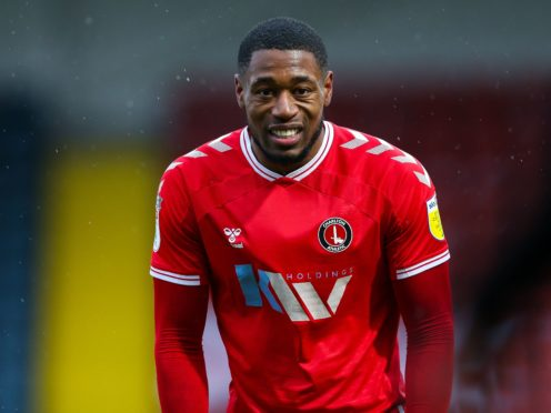 Chuks Aneke returns from suspension for Charlton on Tuesday night (Barrington Coombs/PA)