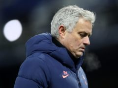 Jose Mourinho is in one of the worst runs of his career (Martin Rickett/PA)