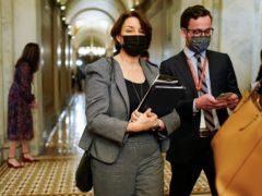 Senator Amy Klobuchar (Joshua Roberts/Pool via AP)