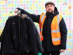 Saf Suleyman, organiser of the Take One Leave One charity (Jonathan Brady/PA)