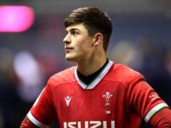 Wales wing Louis Rees-Zammit (Jane Barlow/PA)
