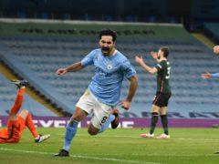 Ilkay Gundogan was the architect of Manchester City's win (Rui Vieira/PA)