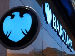 Barclays warned that costs related to the pandemic will remain high throughout 2021 (Dominic Lipinski/PA)