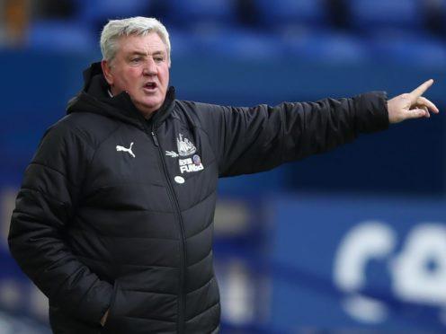 Steve Bruce is unconcerned about Fulham's recent form (Clive Brunskill/PA)