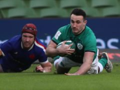 Ireland hooker Ronan Kelleher, right, is set to make his first Six Nations start after his try-scoring cameo against France (Brian Lawless/PA)