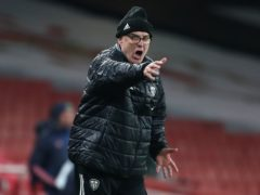 Marcelo Bielsa signed a one-year contract to continue as Leeds manager in September (Catherine Ivill/PA)