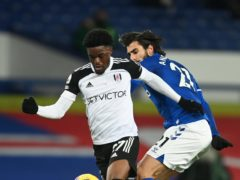 Scott Parker says Fulham could have to manage Josh Maja's fitness after his goalscoring debut at Everton (Michael Regan/PA)