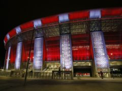 The Puskas Arena in Budapest is hosting Tottenham's Europa League game with Wolfsberger (Trenka Attila/PA)