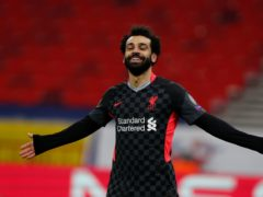 Mohamed Salah's goal for Liverpool in the 2-0 win at RB Leipzig was his 24th of the season (Laszlo Balogh/AP)
