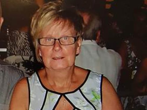 Ruth Williams was strangled by her husband in the first days of lockdown last March (handout/PA)