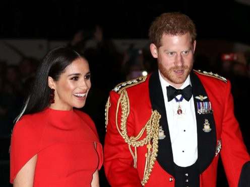 The Duke of Sussex spoke about family life in an appearance on James Corden's The Late Late Show in the US (Simon Dawson/PA)