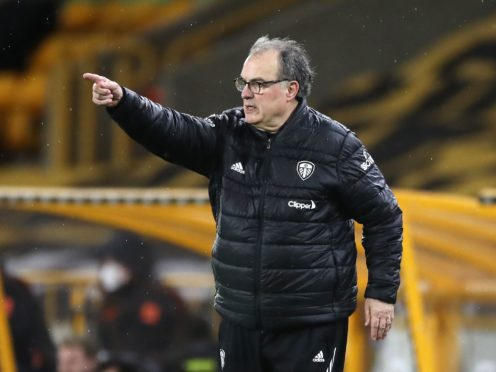 Marcelo Bielsa was left frustrated after the loss at Wolves (Nick Potts/PA)