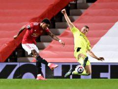 Marcus Rashford opened the scoring against Newcastle (Stu Forster/PA)