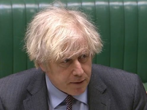 Prime Minister Boris Johnson unveiled his roadmap out of lockdown in England on Monday (House of Commons/PA)