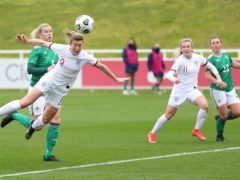 Ellen White scored a hat-trick for England (FA)