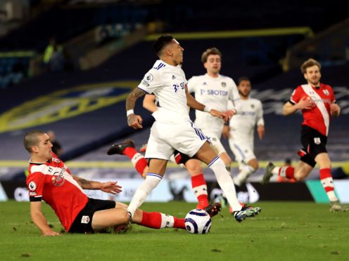 An ankle injury to midfielder Oriol Romeu (left) suffered against Leeds has added to Southampton's selection problems (Mike Egerton/PA)
