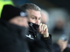 Bristol City manager Nigel Pearson saw his team win at Swansea (Nick Potts/PA)