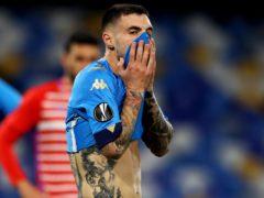 Napoli crashed out of the Europa League (Alessandro Garofalo/AP)