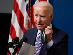 US President Joe Biden has ordered airstrikes in Syria against Iranian-backed militia groups (Evan Vucci/AP)