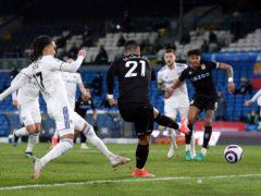 Anwar El Ghazi put Aston Villa ahead early on against Leeds (Laurence Griffiths/PA)