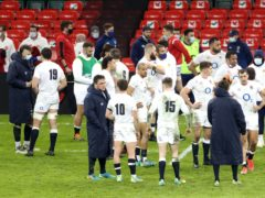 England players after their defeat to Wales (David Davies/PA)
