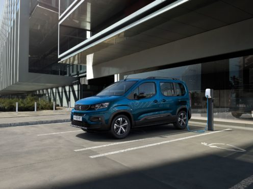 The e-Rifter is the latest EV to join Peugeot's line-up