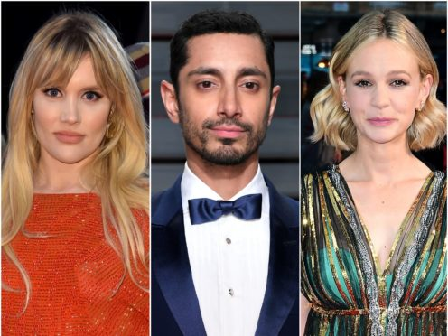 Emerald Fennell, Riz Ahmed and Carey Mulligan are among the Golden Globe nominees (PA)