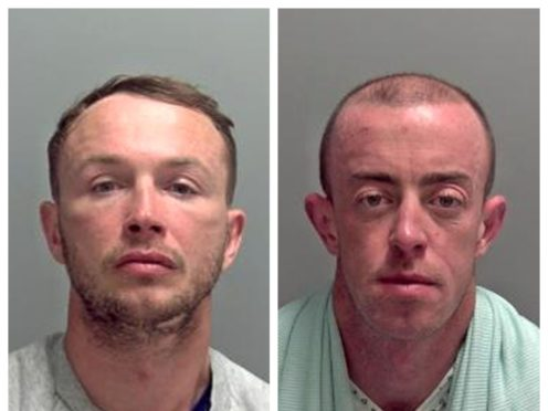 Steven Brogan and Anthony Reilly (Suffolk Police/PA)