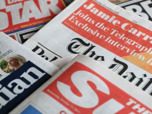 What the papers say – February 19 (PA)