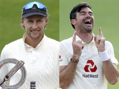Joe Root and James Anderson have moved up the ICC rankings (Alastair Grant/PA)