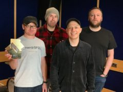 Mogwai scored their first number one with their tenth studio record As The Love Continues (Official Charts Company/PA)