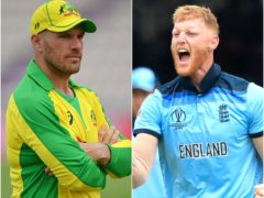 Aaron Finch and Ben Stokes (PA)
