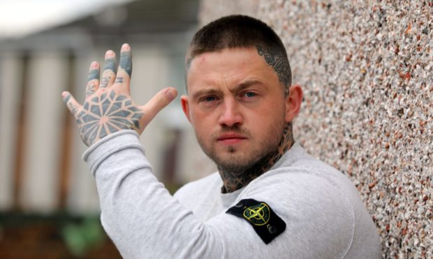 Dundee rap star needed 100 stitches to eye after grisly assault in Perth Prison
