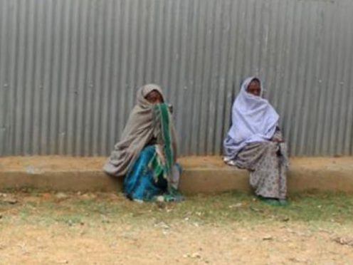 Women in Ethiopia before the current crisis (Mary's Meals)