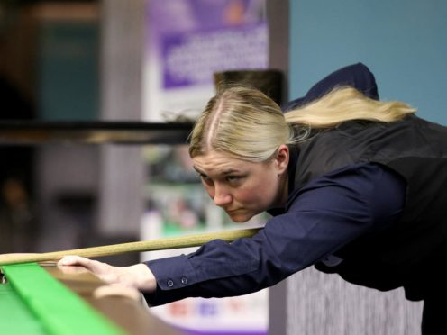 Rebecca Kenna is relishing her debut in the Snooker Shoot-Out this week (Matt Huart/WPBSA)
