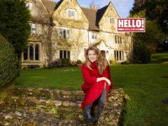 Emma Samms (Hello! magazine/PA)