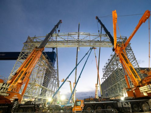 J & D Pierce have taken over the East Kilbride factory (J&D Pierce/PA)