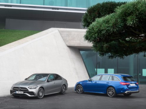 Both saloon and estate C-Class models will be available