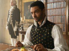 Rege-Jean Page as the Duke of Hastings in Bridgerton (Liam Daniel/Netflix/PA)