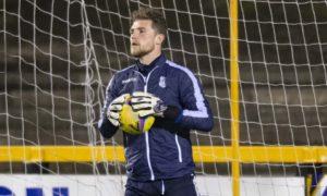 Former Dundee goalkeeper Jack Hamilton signs for Greenock Morton