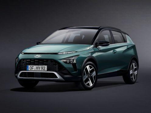 The Bayon arrives as Hyundai's smallest SUV