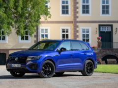 The Touareg R is the most powerful production Volkswagen to date