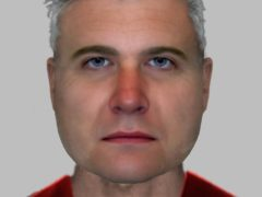 An e-fit of a man suspected of exposing himself to a woman on Clapham Common in south London on March 13 (Metropolitan Police/PA)