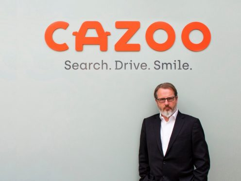 Alex Chesterman, founder of online used car retailer Cazoo (Cazzo/PA)