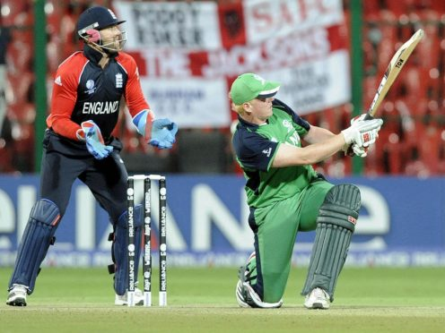 Kevin O'Brien has been reflecting on his career-best knock against England in Bangalore (Rebecca Naden/PA Images).