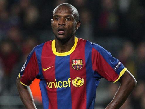 It was announced Eric Abidal would have to undergo a liver transplant on this day nine years ago (Dave Thompson/PA)