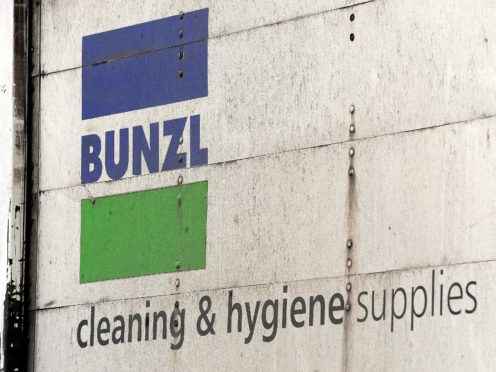 Bunzl saw a jump in revenue and profit during the Covid-19 crisis as it was able to switch away from some of the business areas that were hardest hit (John Stillwell/PA)