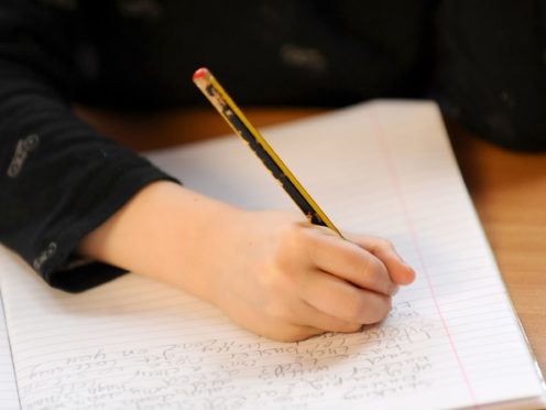 Lighter-touch inspections will occur in schools from May 4 (Dominic Lipinski/PA)