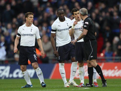 Scott Parker (left) and Gareth Bale (right) were team-mates at Tottenham (Nick Potts/PA)