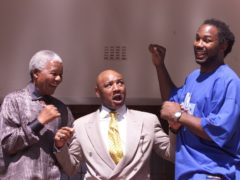 Marvin Hagler (centre) ruled the middleweight division for much of the 1980s (Nick Potts/PA)